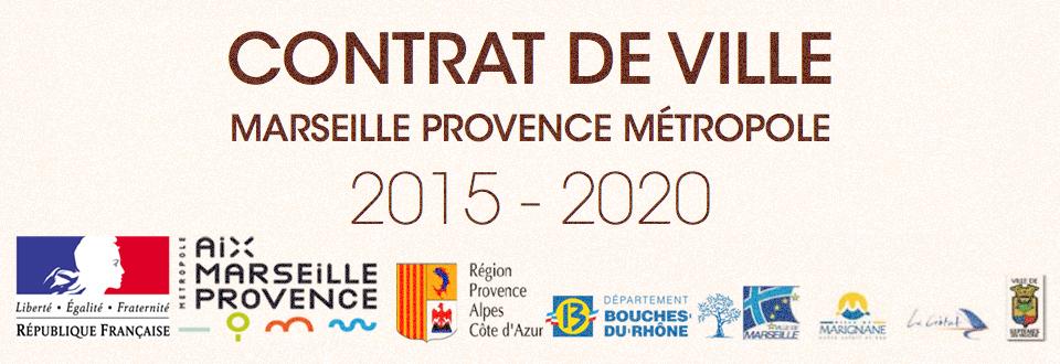 Contrat de Ville de Marseille Provence M�tropole 2015-2020