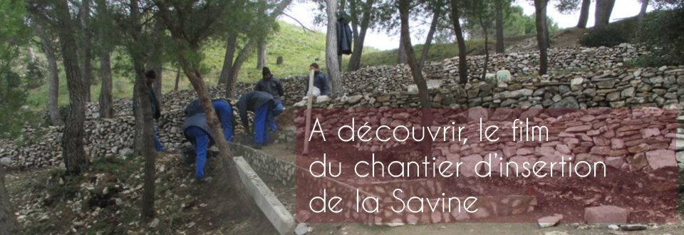 Film du chantier d'insertion de la Savine