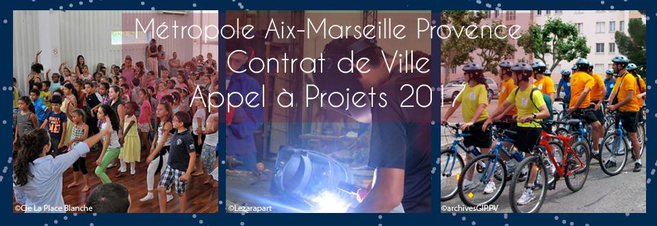 Appel à Projets 2017 Contrat de Ville Métropole Aix-Marseille Provence